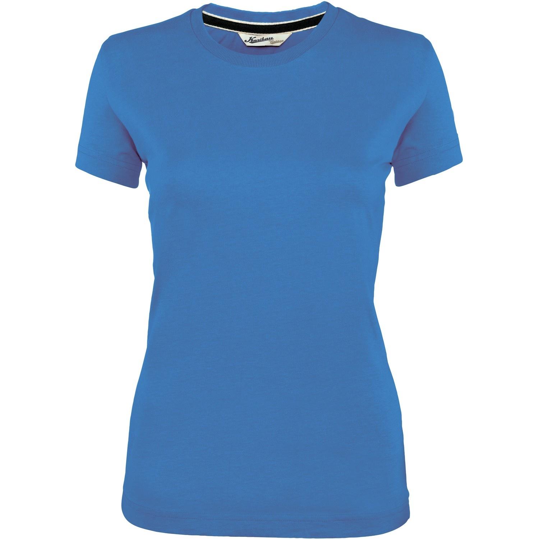 Kariban vintage womens ladies short sleeve crew neck t for Crew neck t shirt women