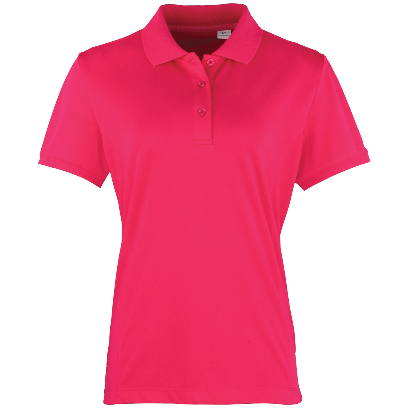 premier womens ladies coolchecker short sleeve pique polo