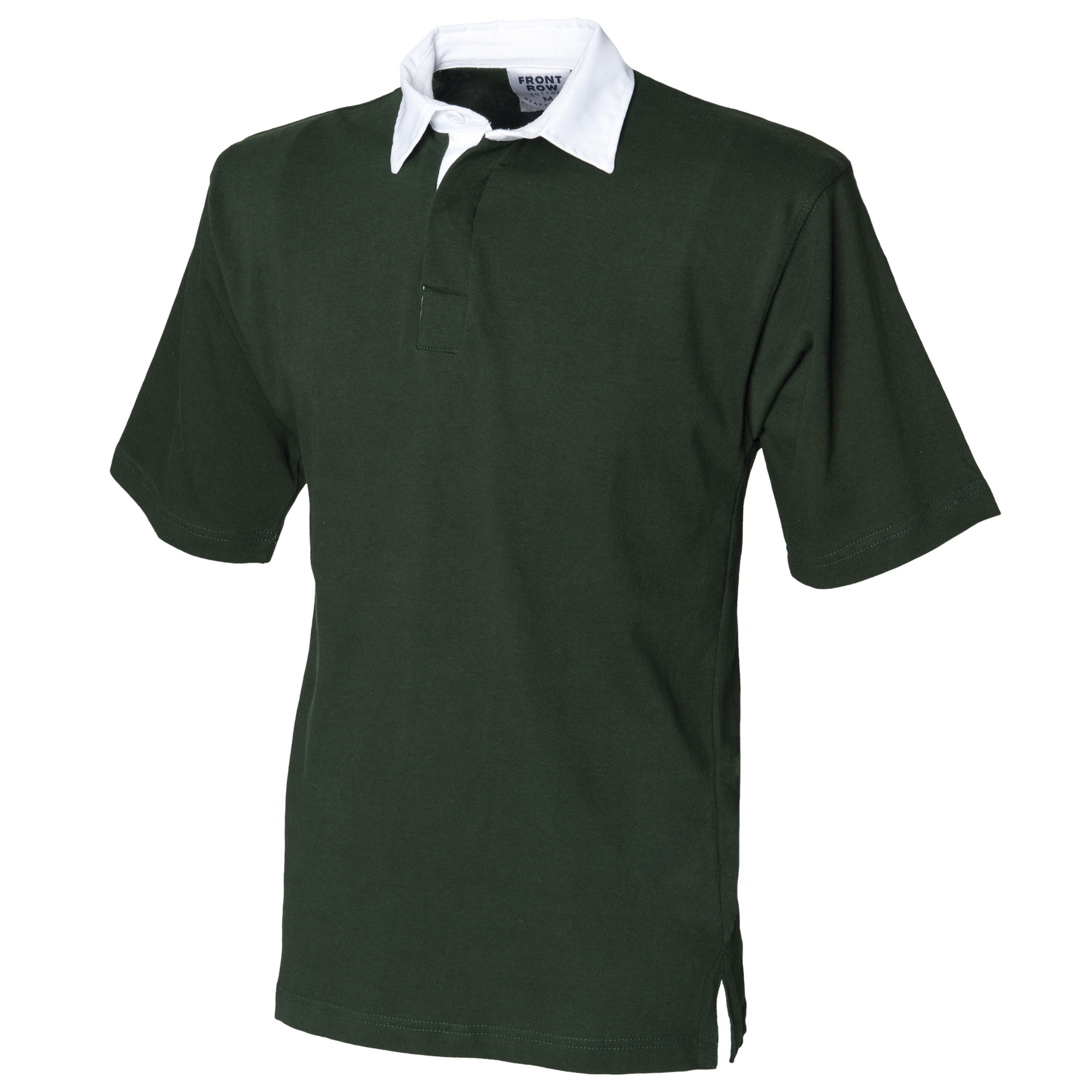 Front Row Short Sleeve Sports Rugby Polo Shirt T Shirt Szs