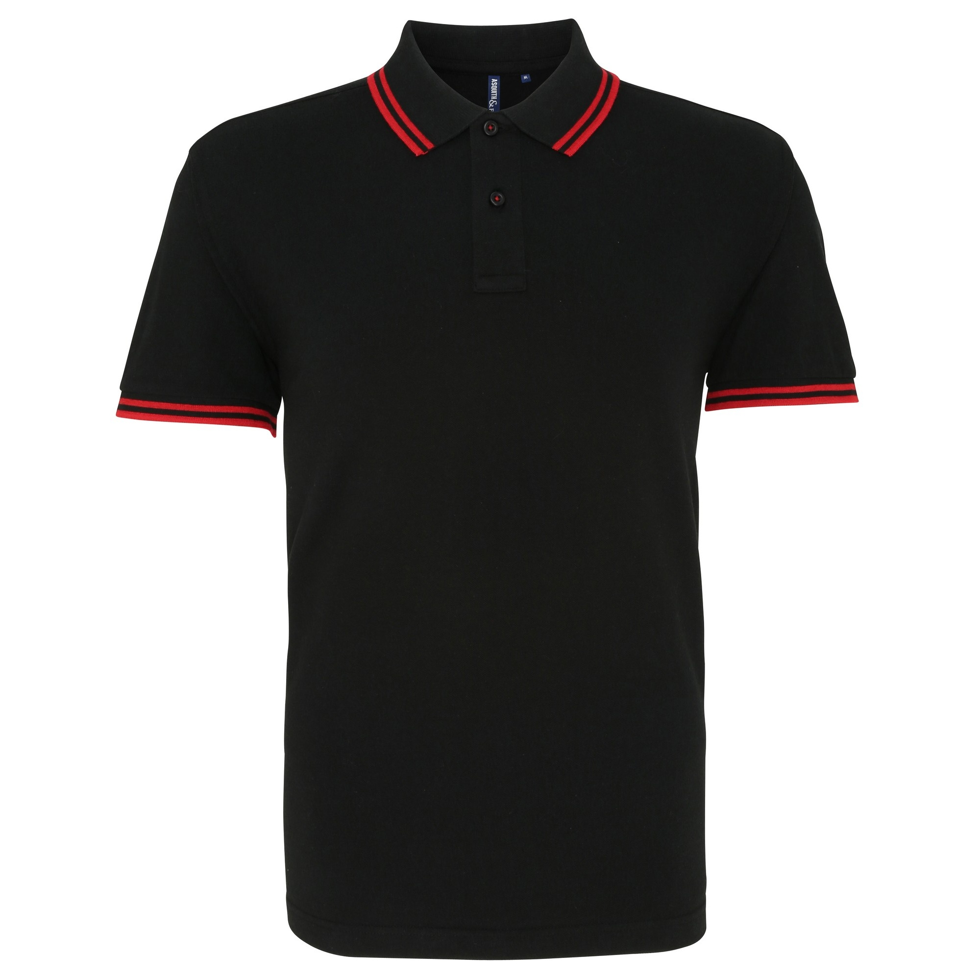 asquith fox mens classic fit tipped polo shirt ebay. Black Bedroom Furniture Sets. Home Design Ideas