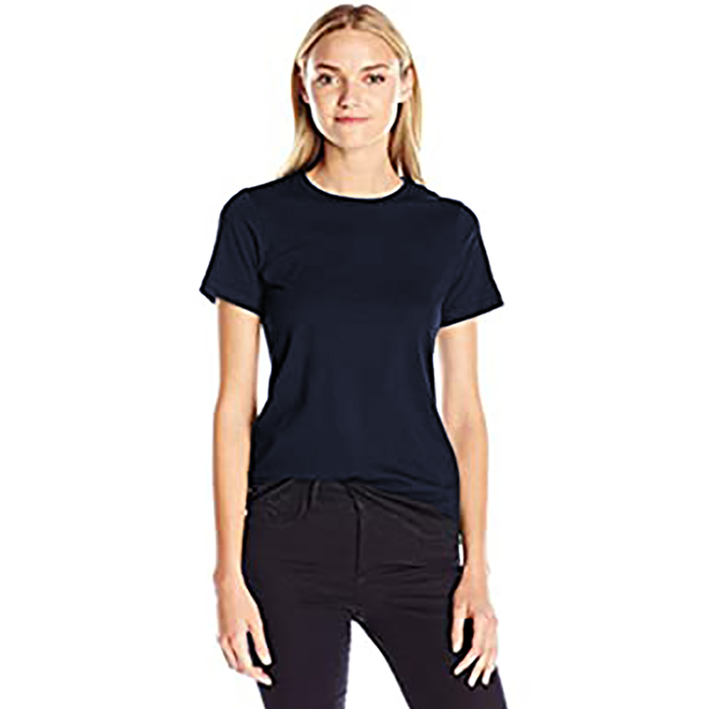 American apparel womens ladies classic short sleeve t shirt for All american classic shirt