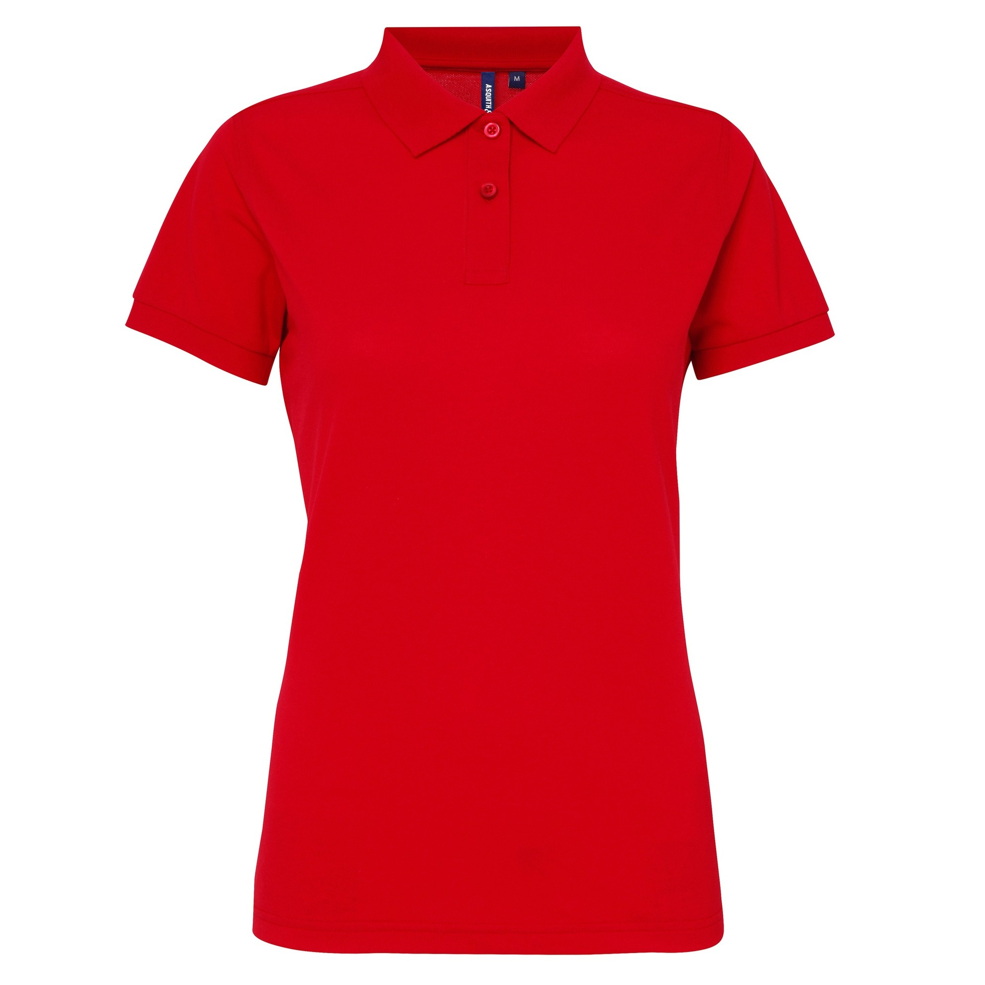 Asquith Fox Womens Ladies Short Sleeve Performance Blend