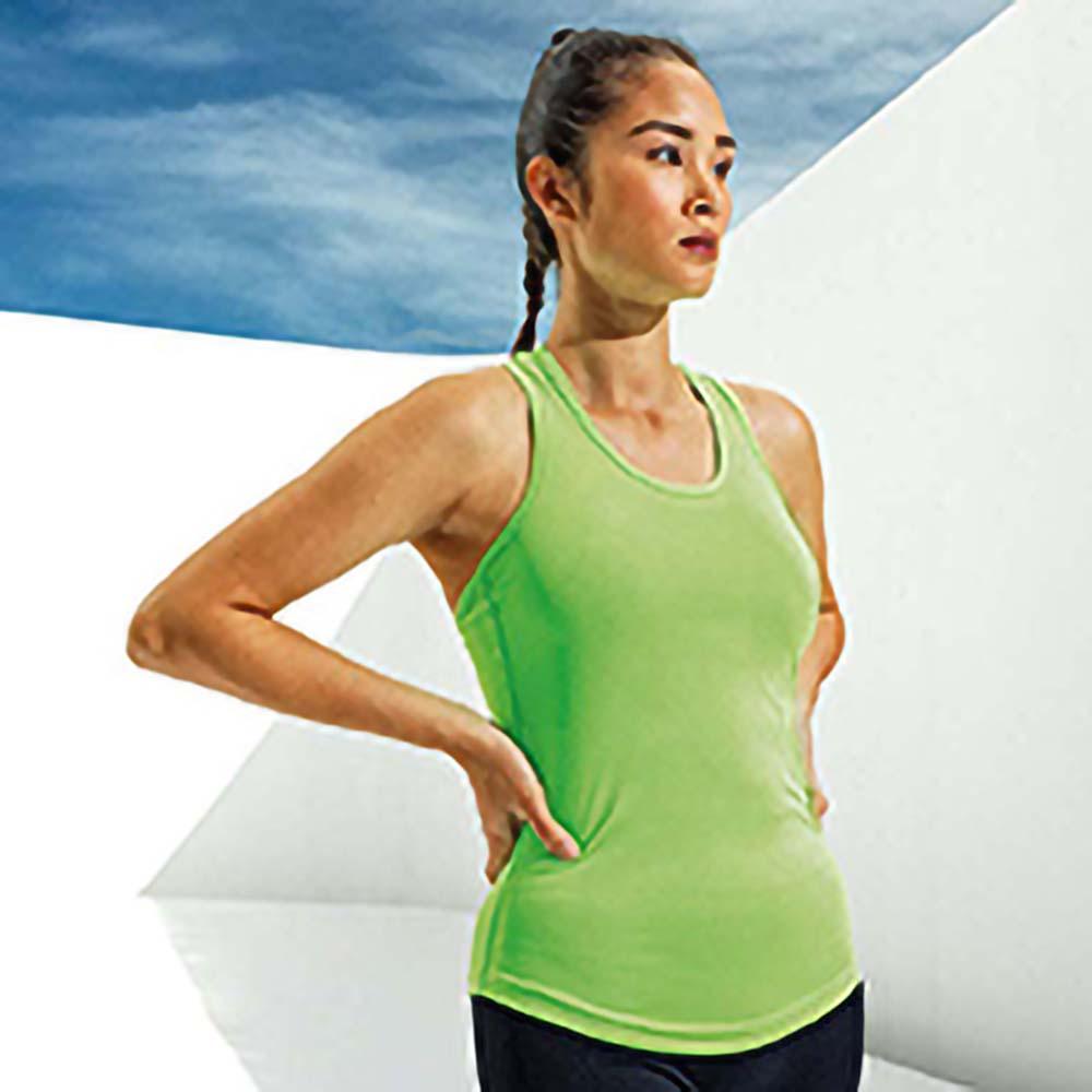 RW5570 Tri Dri Womens//Ladies Performance Strap Back Vest