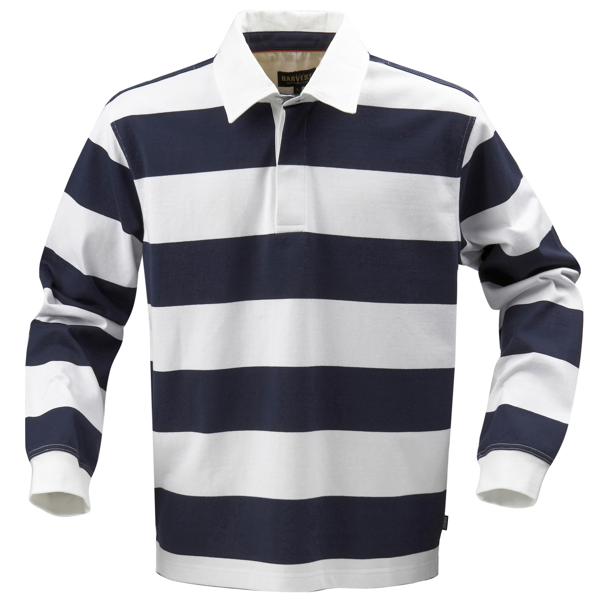 Harvest Lakeport Mens Rugby Sports Plain Cotton Long