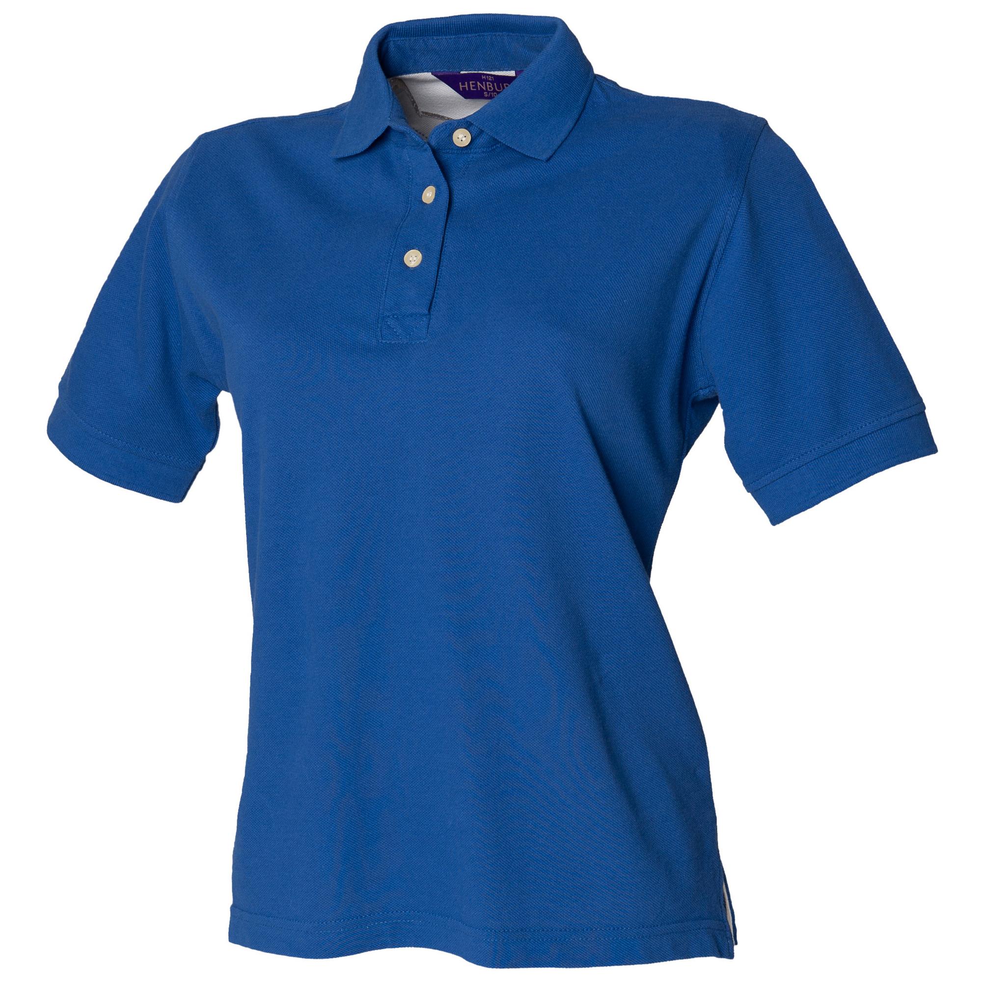 Henbury Womens Ladies Classic Polo Shirt Top Szs S 2xl Ebay