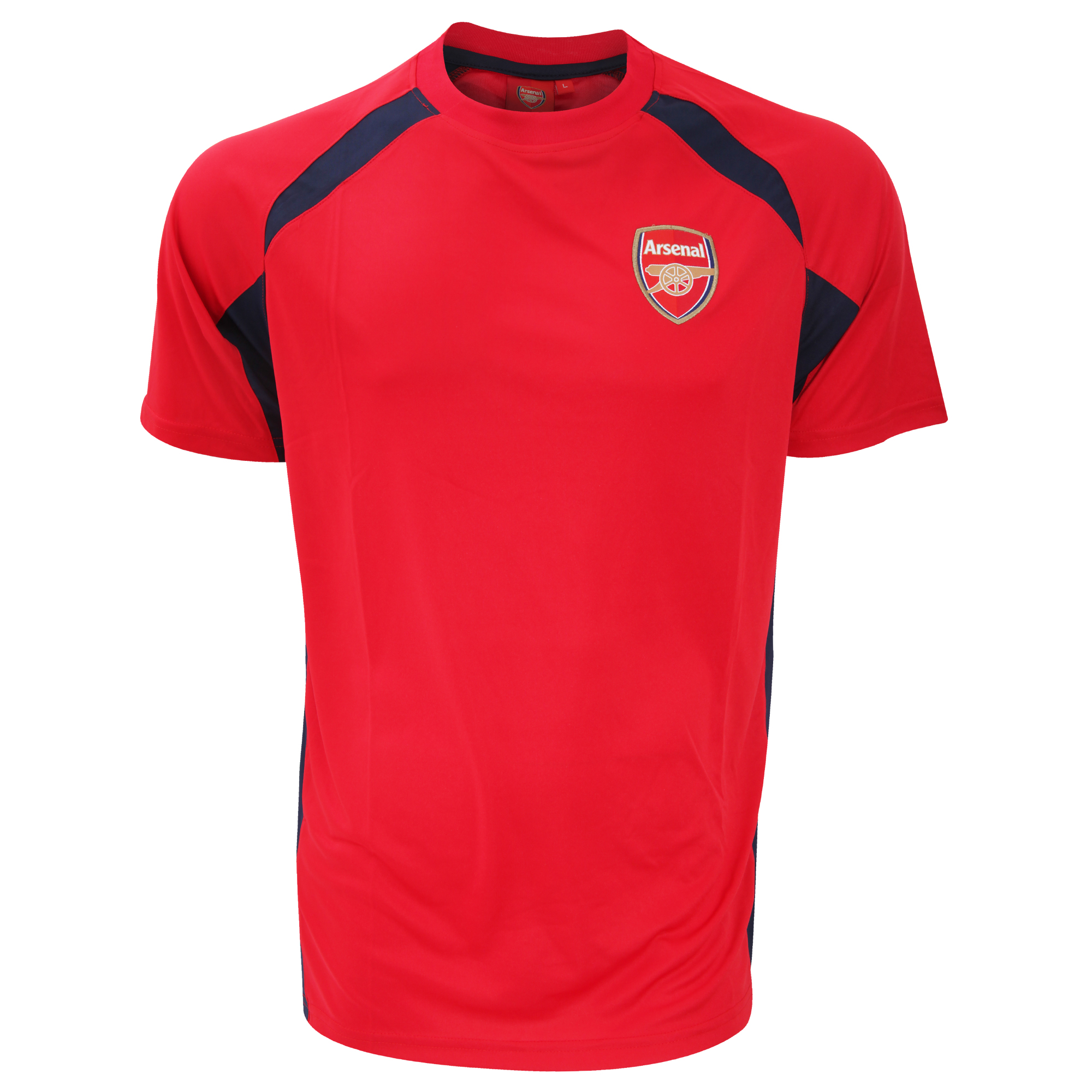 Arsenal fc mens official football crest sports panel t for Arsenal t shirts sale