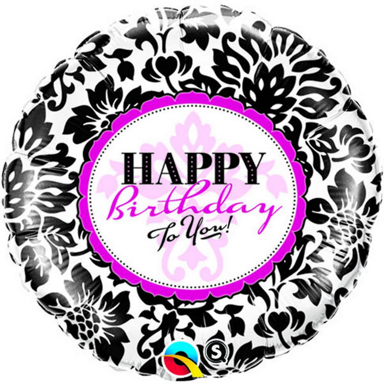 Qualatex-Palloncino-Tondo-Buon-Compleanno