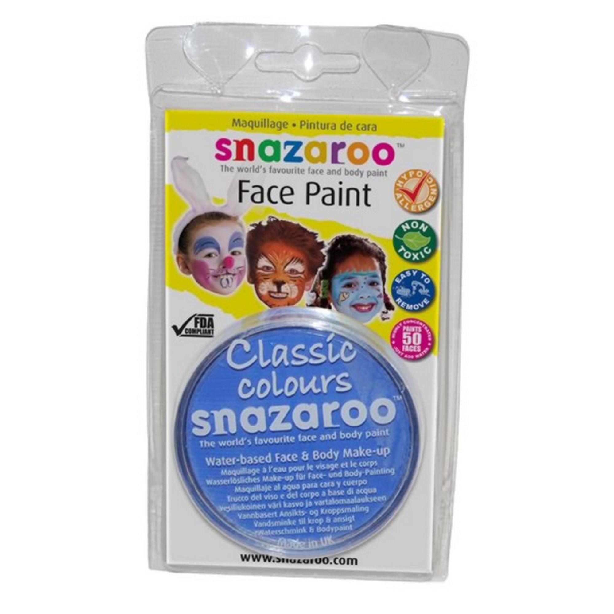 Snazaroo 18ml Non Toxic Face Paint 41 Colors Ebay