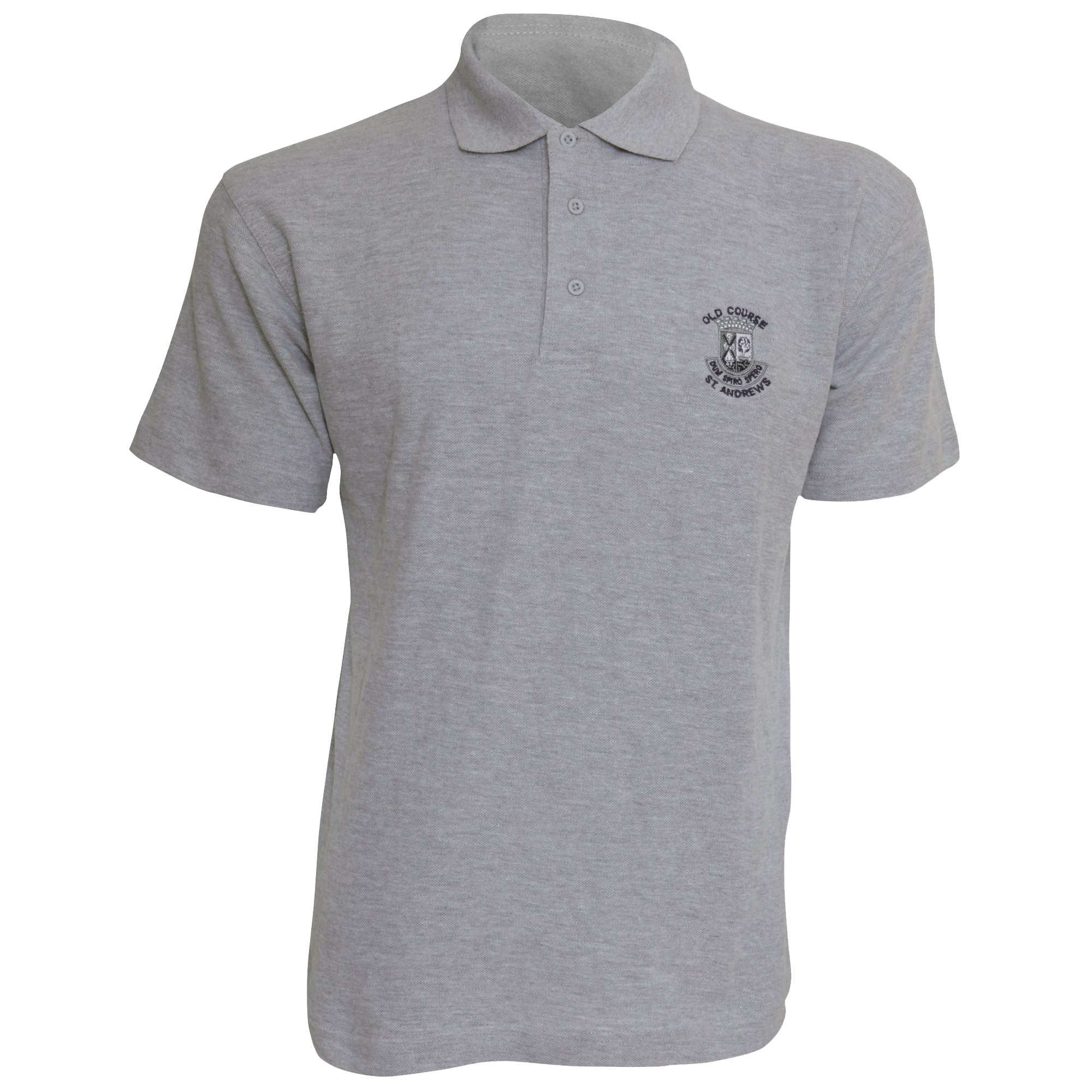mens old course st andrews golf short sleeve polo t shirt