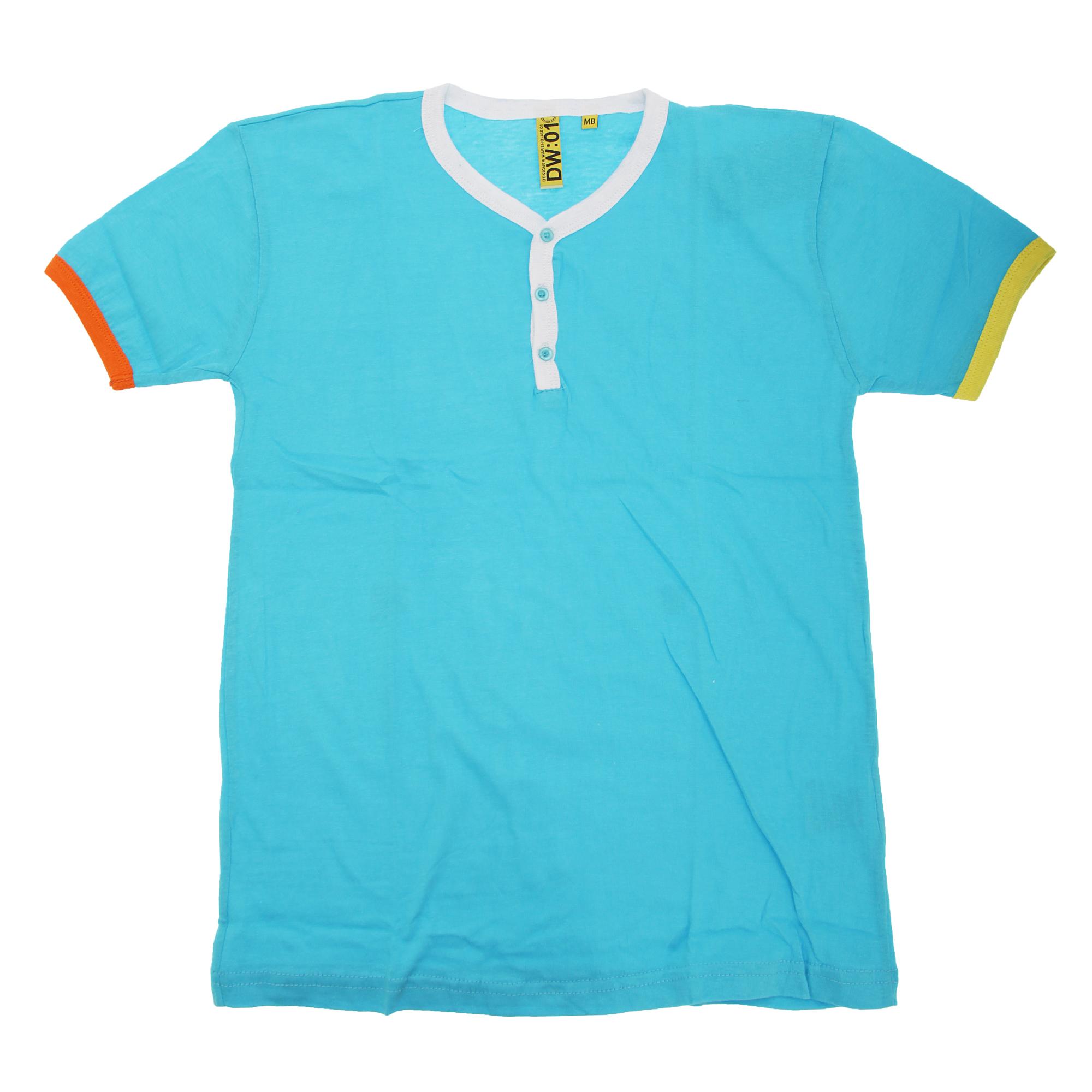 unisex boys girls short sleeve summer t shirt with colour. Black Bedroom Furniture Sets. Home Design Ideas