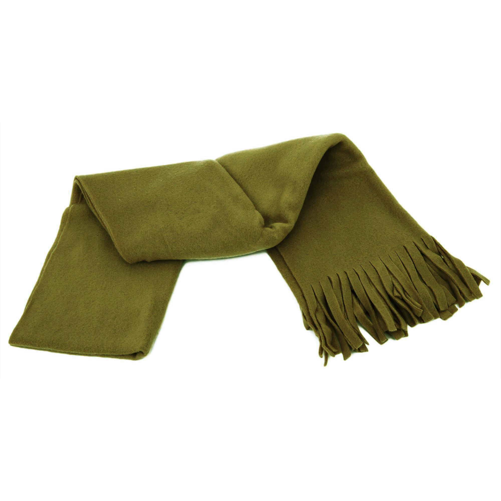 floso womens plain thermal fleece winter ski scarf