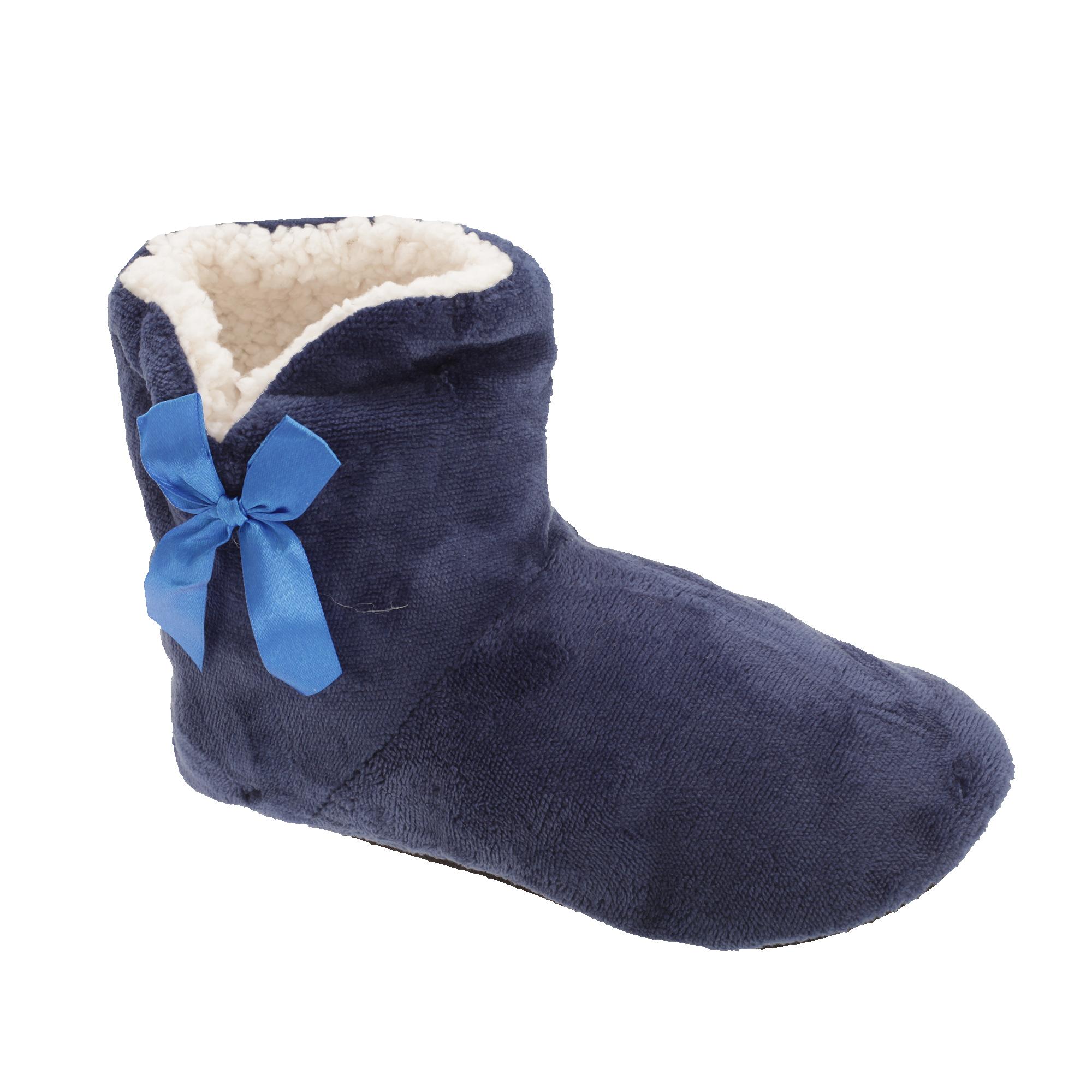 chaussons bottes femme utsl452 ebay. Black Bedroom Furniture Sets. Home Design Ideas