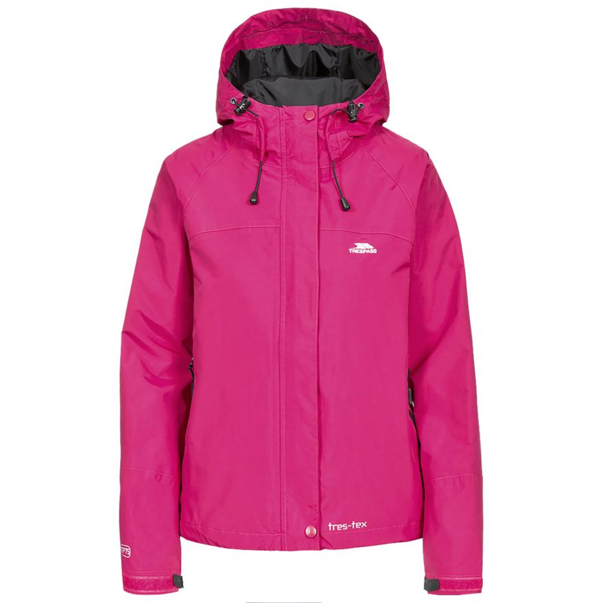 Trespass Womens/Ladies Florissant Hooded Full Zip Outdoor ...