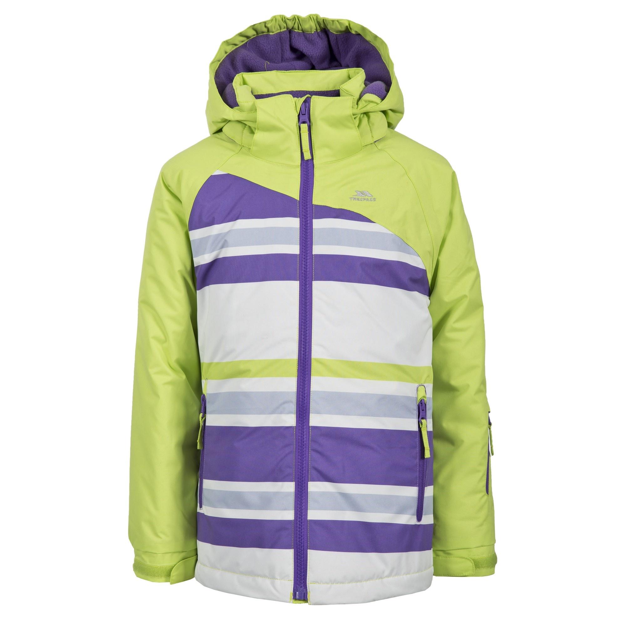 Trespass-Childrens-Girls-Golda-Waterproof-Hooded-Ski-Jacket