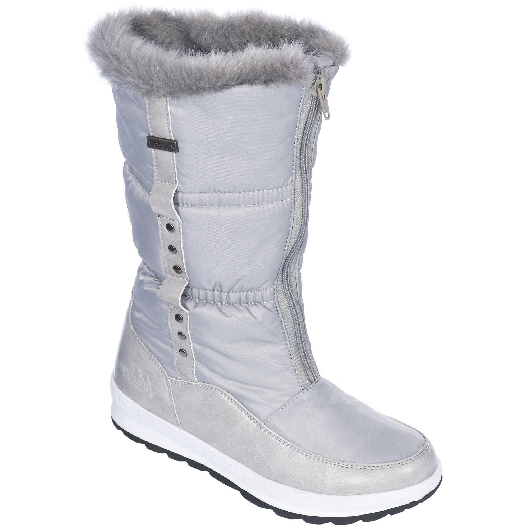 trespass virgo womens waterproof winter snow boots