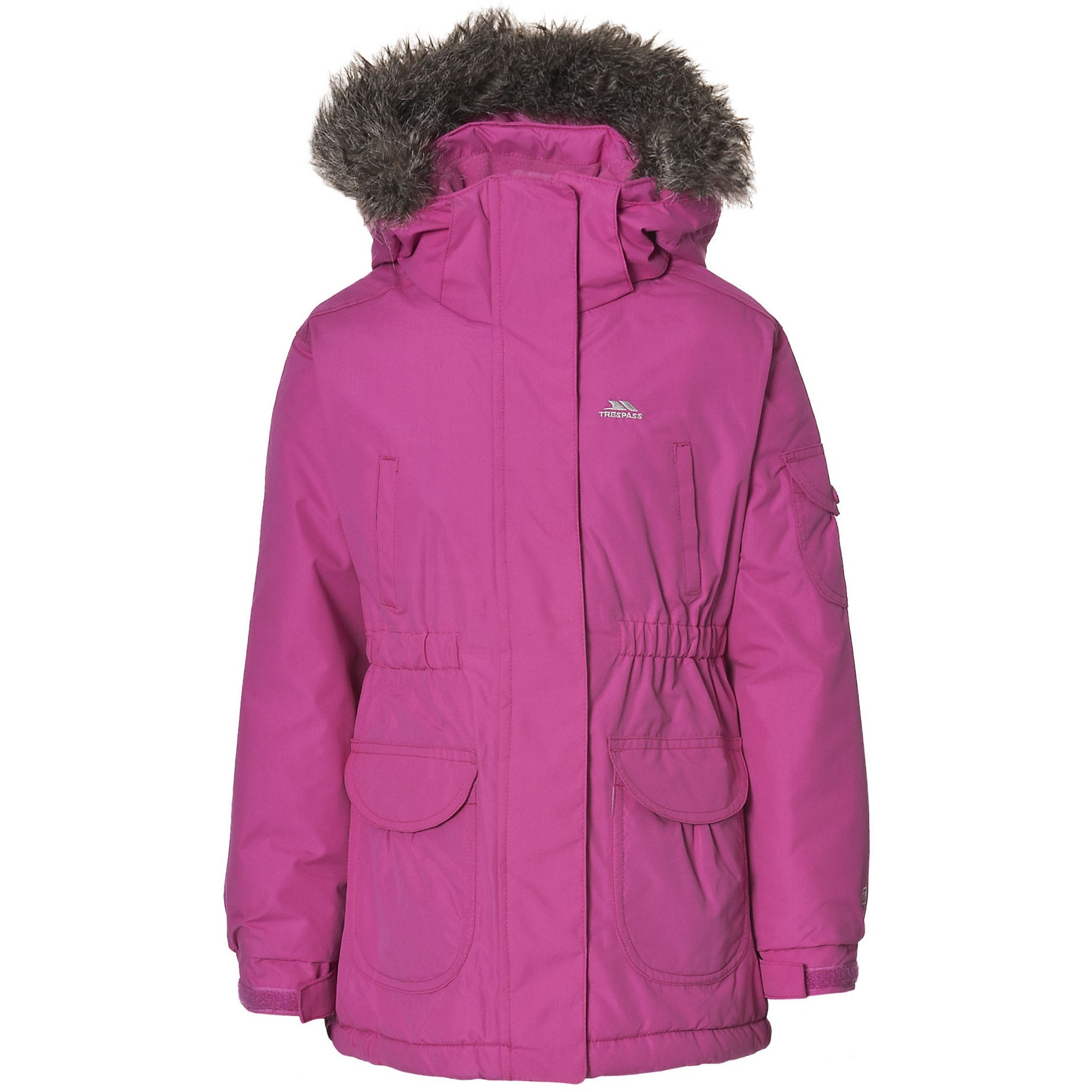 trespass childrens girls gizella padded waterproof winter