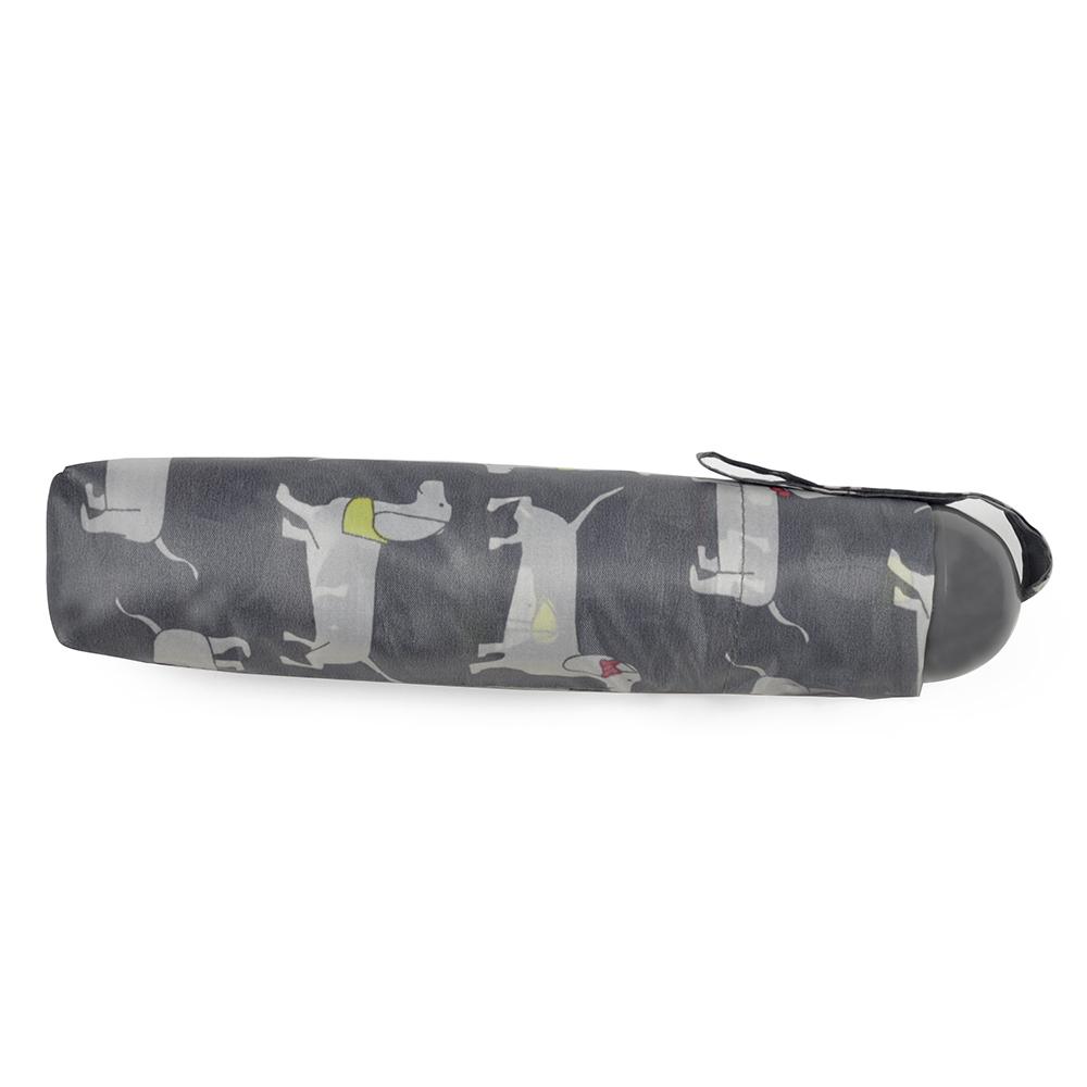 Drizzles Damen Taschenschirm mit Dackel-Muster UM347