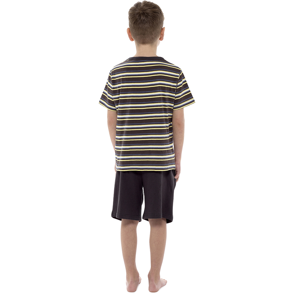 Tom Franks Childrens//Kids Jersey Striped Short Pyjama Set 254