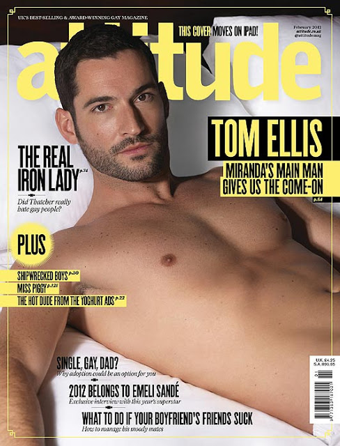 Tom Ellis in Attitude Magazine