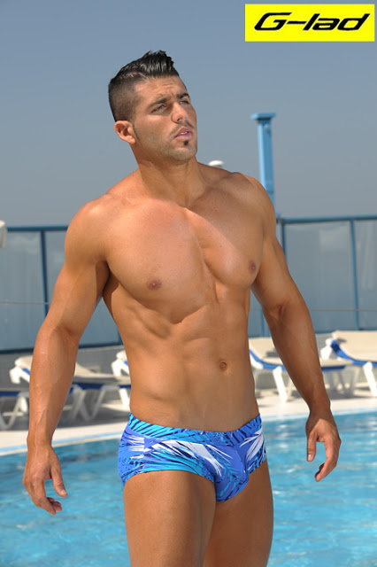male swimwear by g-lad
