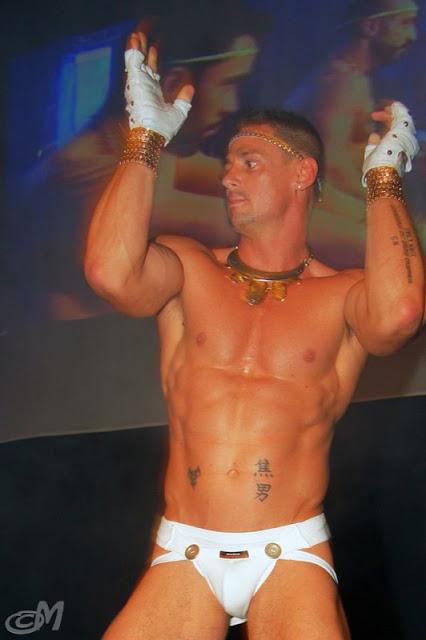 sexy dancer in underwear
