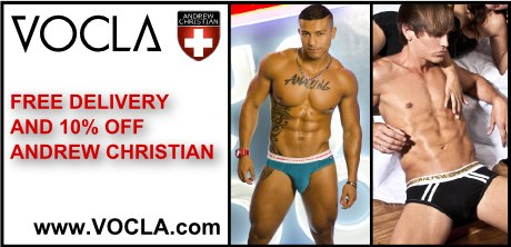 10% off and free delivery all Andrew Christian underwear