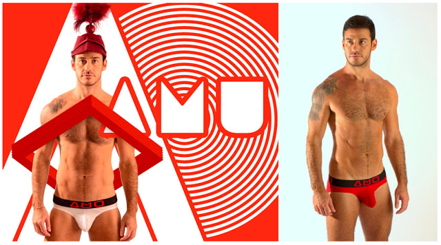 New men's underwear brand AMU