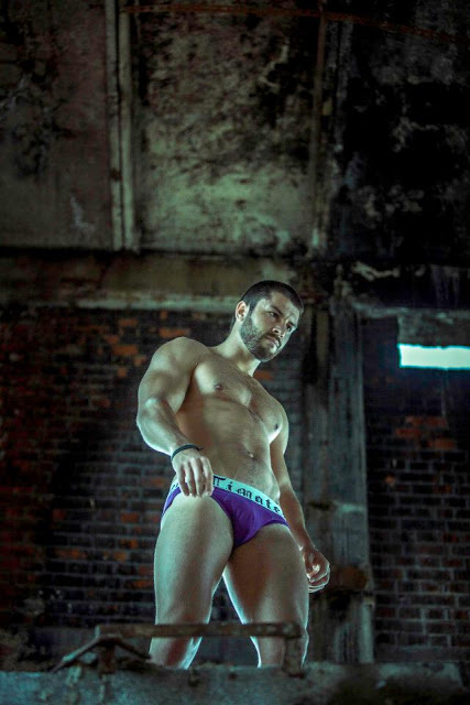 sexy model adrian by mircius aecrim for timoteo underwear