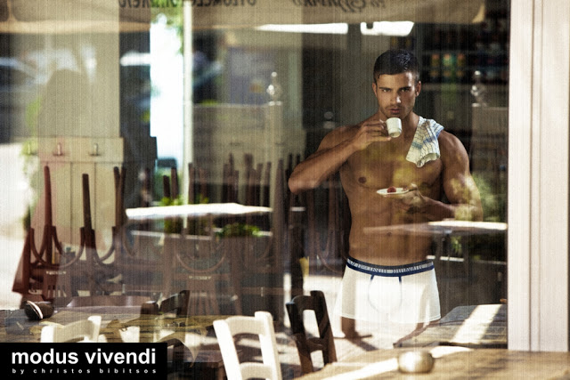 modus vivendi underwear campaign retro greece innkeeper