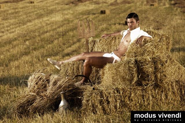 modus vivendi underwear campaign retro greece harvester