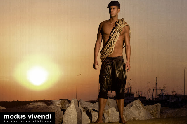 Iraklis Kozas for modus vivendi fetish underwear line Fisherman