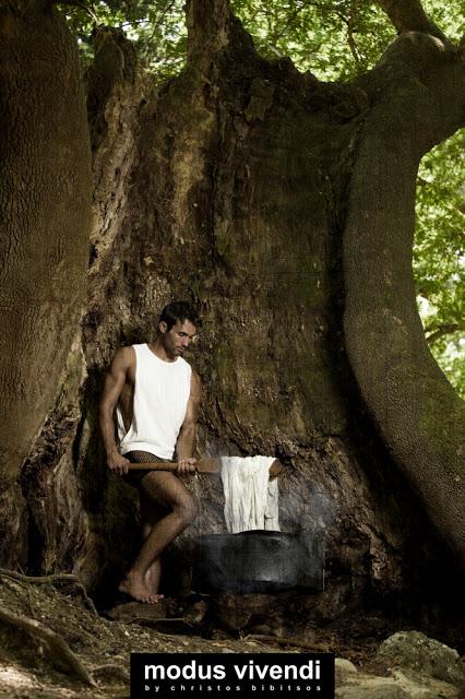 Stefanos Papadopoulos for Modus Vivendi underwear line Dyer