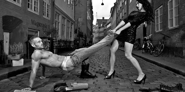 Zahid Latif Copenhagen men's underwear brand campaign 2/2