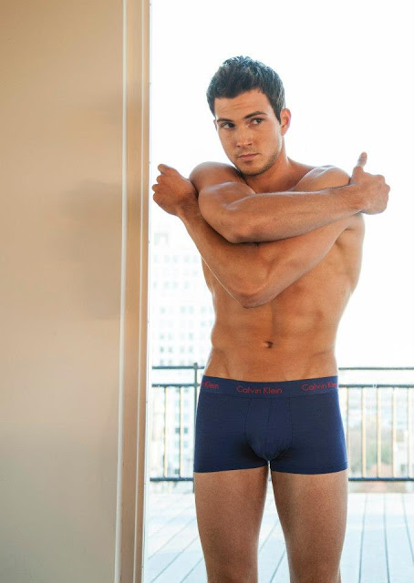 rob wilson for mens underwear store in calvin klein