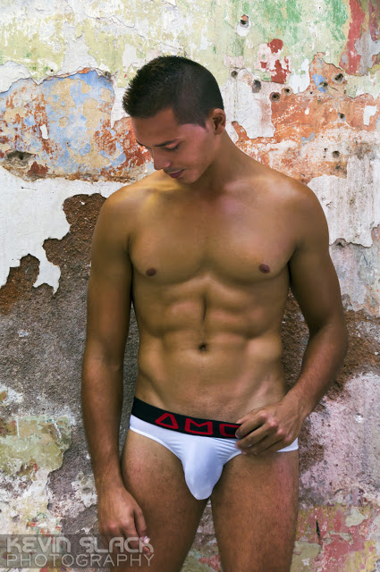 Sexy Jorge Luis in mens underwear by AMU