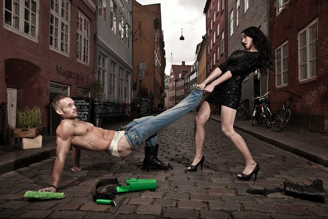 Zahid Latif Copenhagen male underwear brand