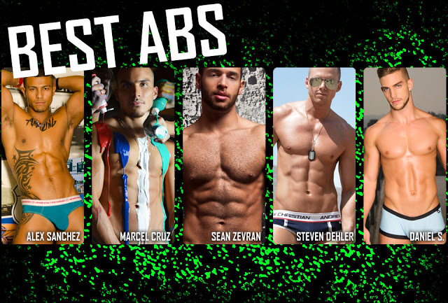 Best abs of a model OMFG awards by Andrew Christian
