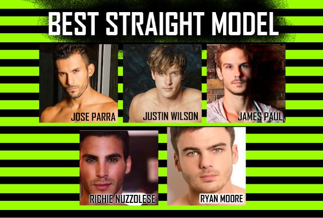 Best straight model OMFG awards by Andrew Christian