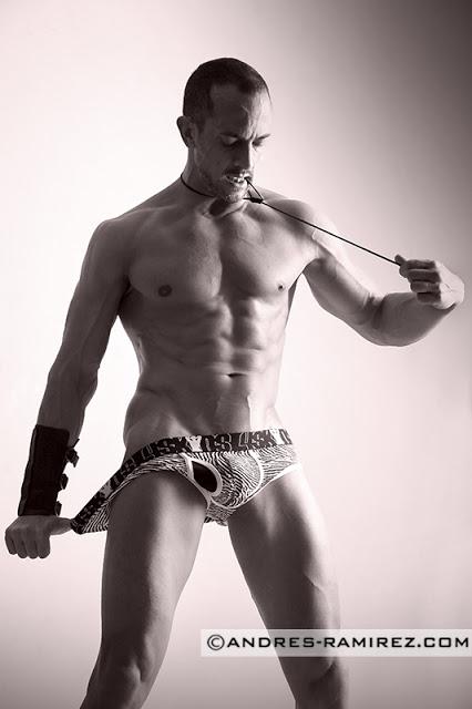 Jaime Abella by Andres Ramirez in 4skins underwear