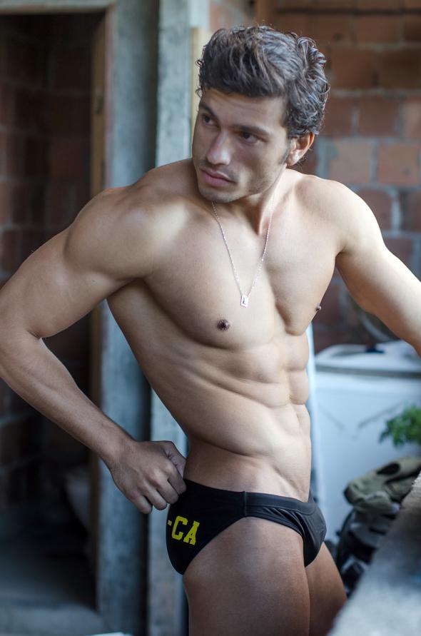 Swimwear model Mikael Castro
