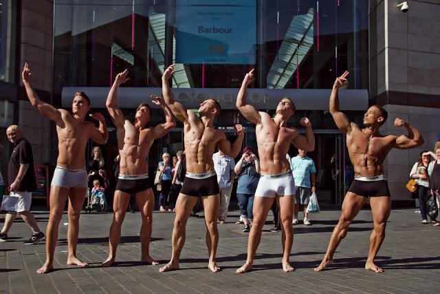 Urban Active men's underwear campaign