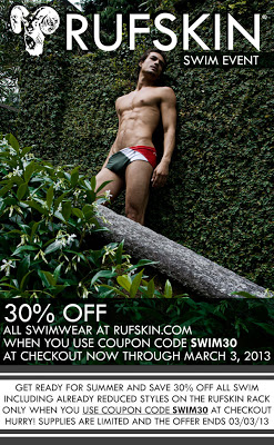 Rufskin swimwear for men discount 30%