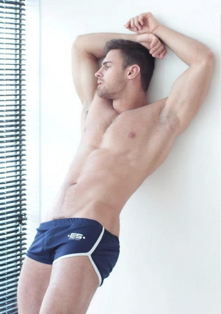 Men and Underwear blog: Kirill Dowidoff by Artem Subbotin