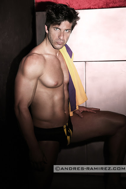 Sexy David Fillol by Andres Ramirez - Underwear by Modus Vivendi