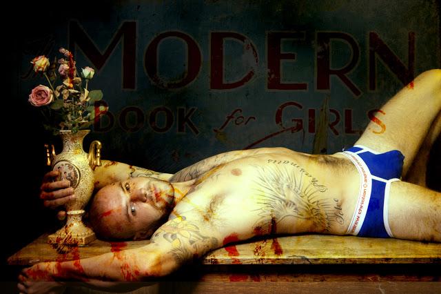 James Green by Gavin Harrison in Andrew Christian underwear