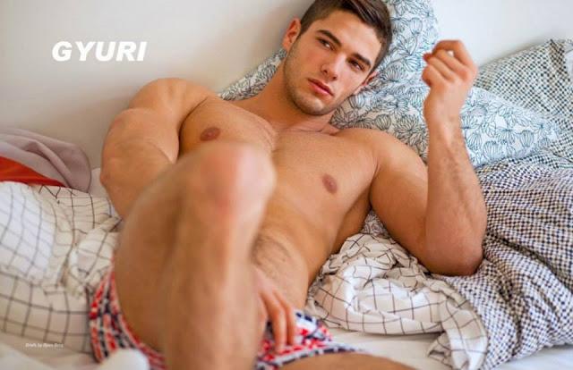 Sexy Hungarian model Gyuri by Sam Scott Schiavo
