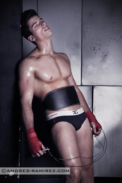 Abraham Arasa in 3G underwear - Andres Ramirez