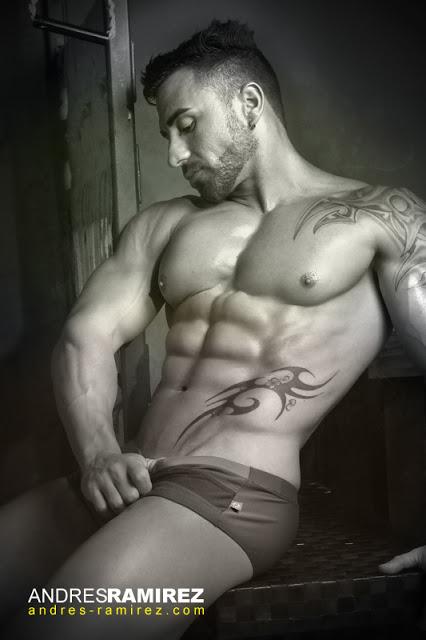 Ivan Pacheco in Carioca swimwear
