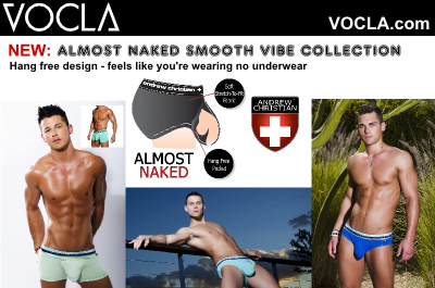 Andrew Christian Almost Naked Smooth Vibe underwear