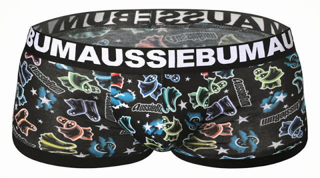 aussiebum limited edition halloween underwear